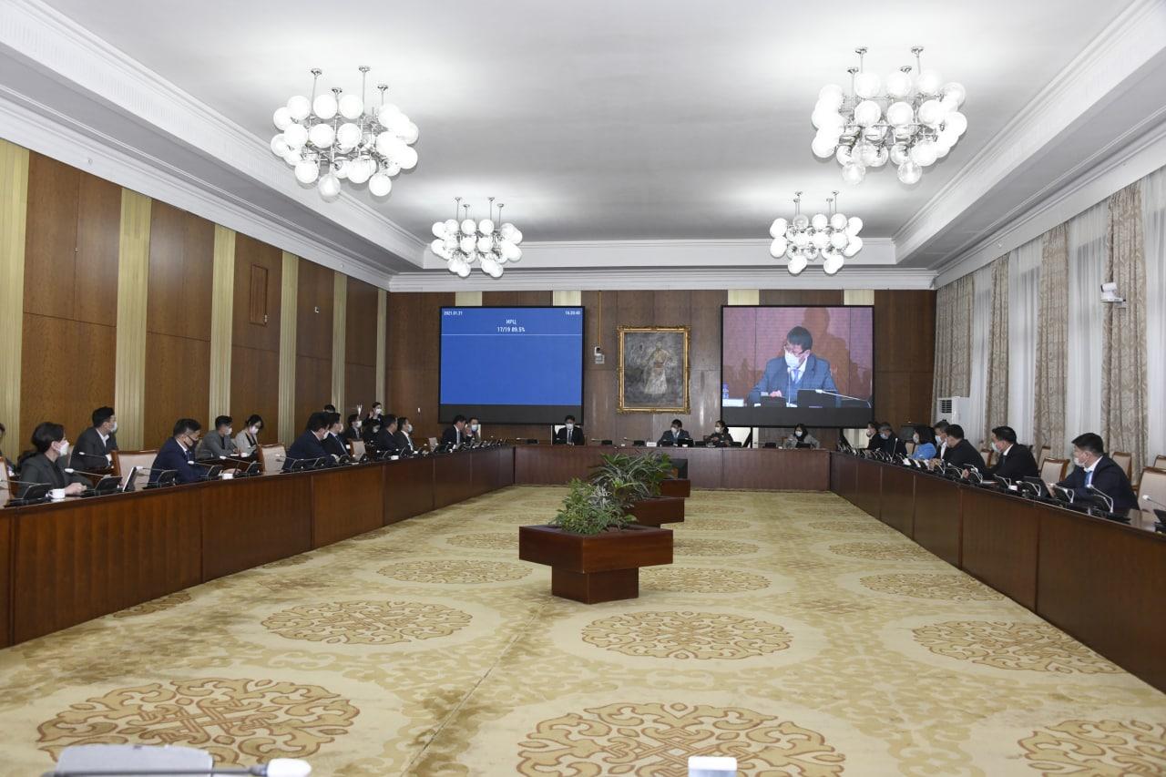 Монгол Улсын Ерөнхий сайдын огцрох саналыг Төрийн байгуулалтын байнгын хороо дэмжлээ